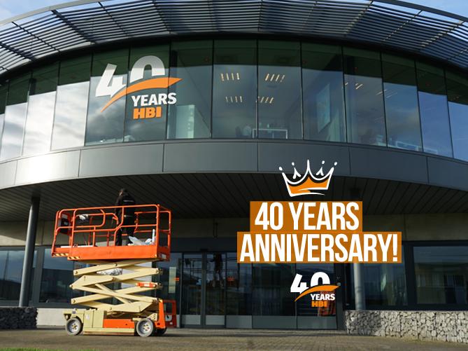HBI - 40 YEARS ANNIVERSARY!
