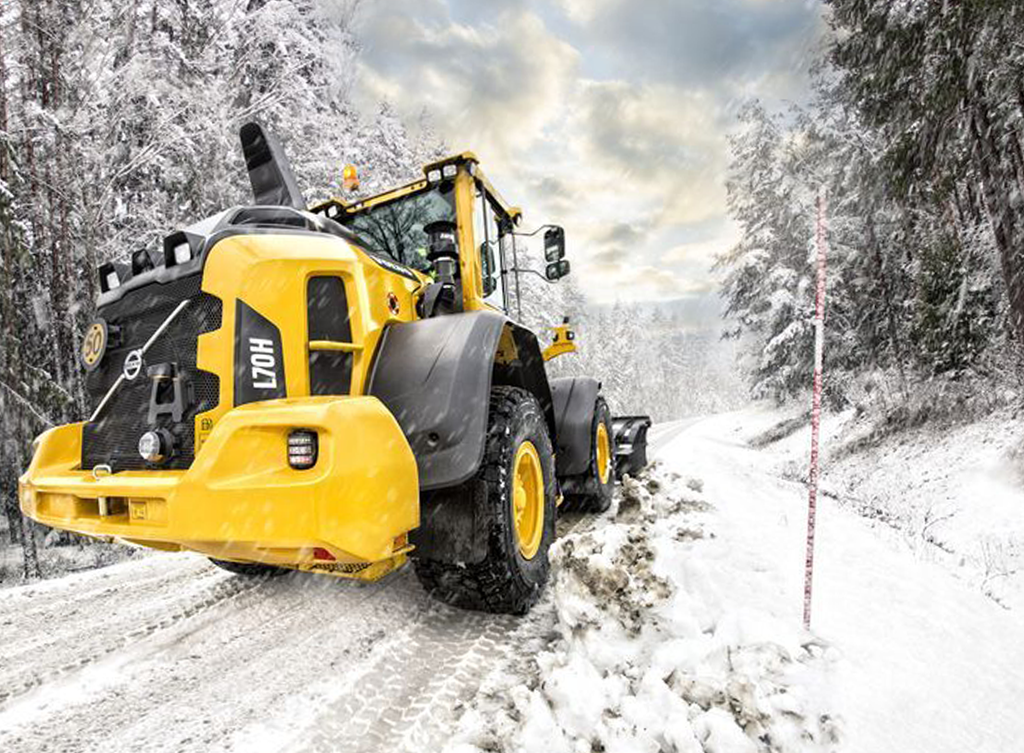 Ready for Winter? 20.5R25 SNOW TYRES